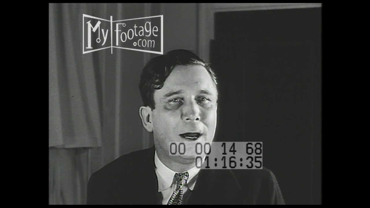 1940 Republican National Convention Wendell Willkie Gives Speech