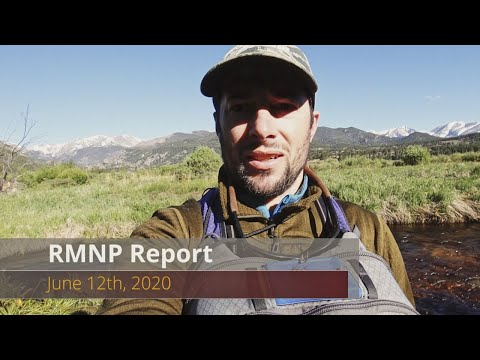 Video Fly Fishing Report: Rocky Mountain National Park 6-12-20
