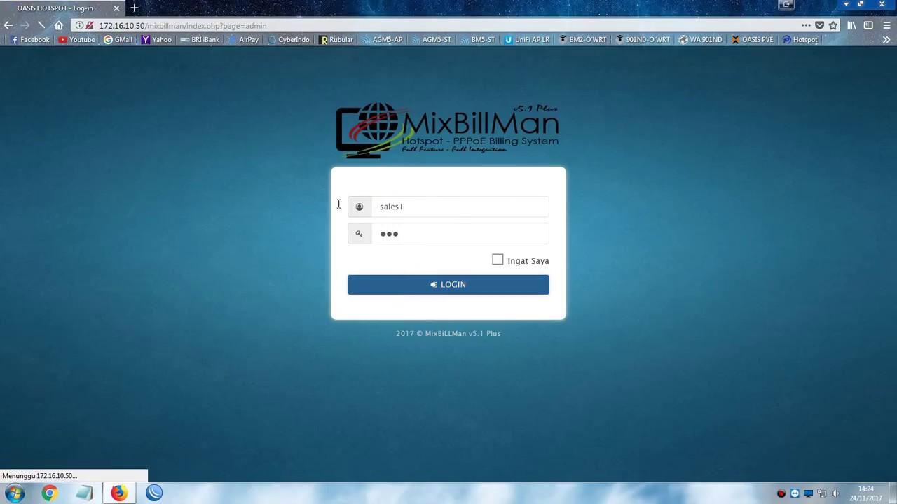 Video Demo Billing For Hotspot - PPPoE : MixBillMan v5 1 Plus Full Feature  - TopSETTING COM