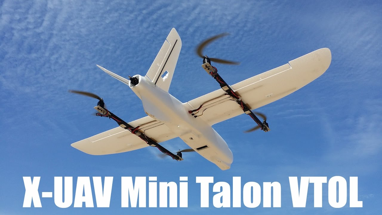 X-UAV Mini Talon VTOL Quadplane