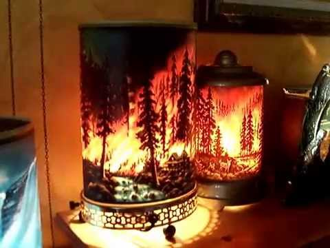 Motion Lamp Econolite Forest Fire 761 Amp Econolite