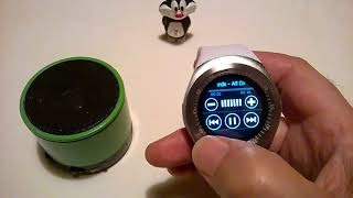 Smart watch Y1 Bluetooth audio TEST