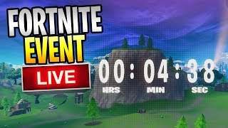 """FORTNITE - NEW Battle Royale Chapter 2 Live Event """"The End"""""""