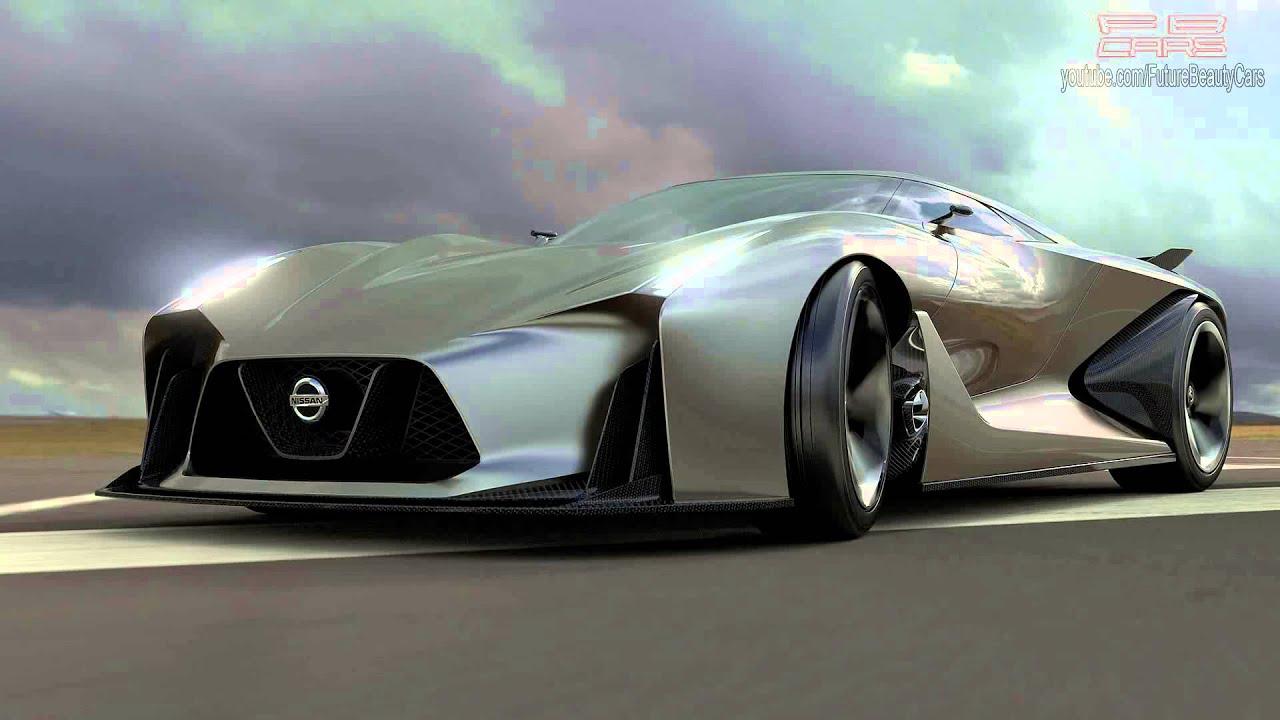 Nissan Concept 2020 (784-HP) Magnificent hi-tech car! - YouTube
