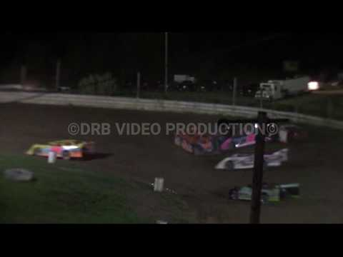 Hidden Valley Speedway Semi Late Model Feature Including Pile-up 5-11-19