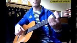 Nơi tình yêu bắt đầu  -  guitar classic !!!