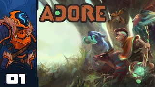 Let's Play Adore [Early Access] - PC Gameplay Part 1 - Monster Taming Roguelite? Sounds Neat!
