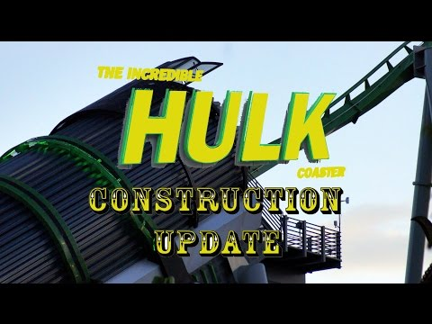 Universal Orlando Resort Construction Update 7.26.16 Hulk Night Testing, New Additions + More!
