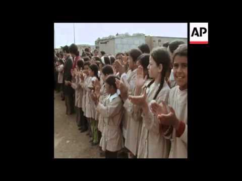 SYND 14-3-74 KREISKY LEADING SOCIALIST INTERNATIONAL DELEGATION MEETING ASSAD