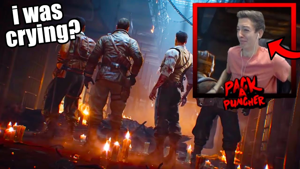 REACTING To MOB OF THE DEAD REMASTERED In BO4 ZOMBIES