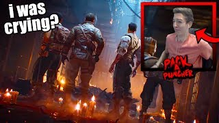 """REACTING to MOB OF THE DEAD REMASTERED in BO4 ZOMBIES! - """"Blood of the Dead"""" Full Trailer! (COD BO4)"""