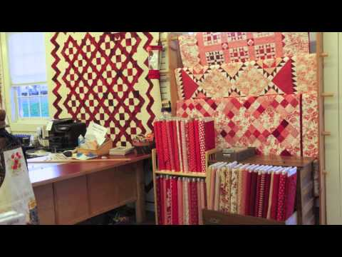 Red & White Quilts at Quilted Strait