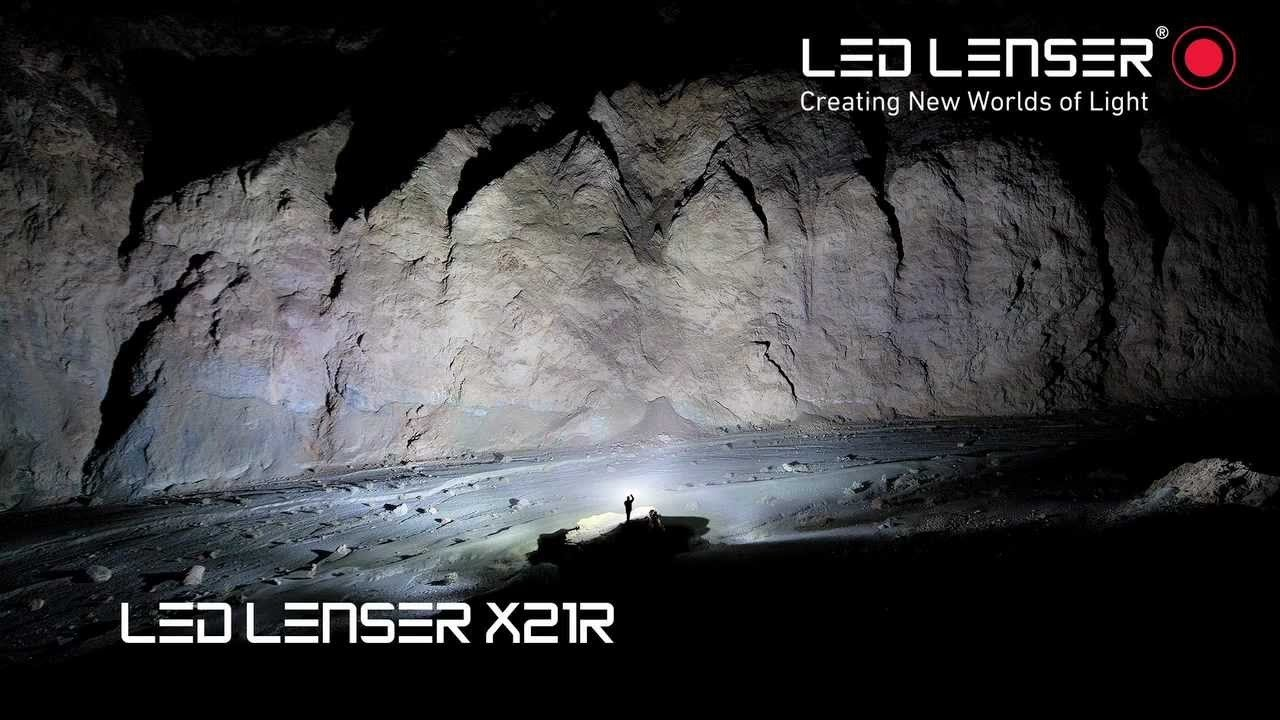 Led Lenser X21r 2 9421r Toltheto Extrem Led Lampa Youtube