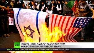 Cash Tweet: Israeli students paid to defend country online