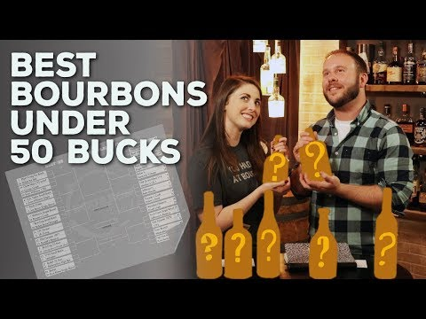 Best Bourbons Under $50 - Flight Fight Challenge