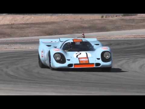 Porsche 917 pure sound on the track