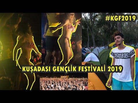 KUŞADASI GENÇLİK FESTİVALİ 2019 | #kgf2019 | VLOG (Ceza,Teoman,Duman,Manga,Şebnem Ferah..)