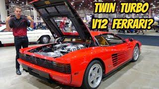 homepage tile video photo for Should I buy this TWIN TURBO Ferrari Testarossa custom?