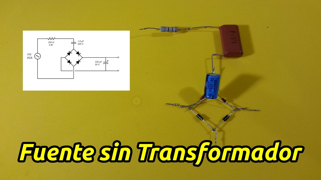 fuente de voltaje sin transformador youtube variable dc power supply project variable dc power supply project report
