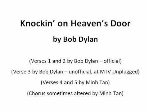 Guitar Tabs for Knockin\' on Heaven\'s Door (with extra lyrics) - YouTube