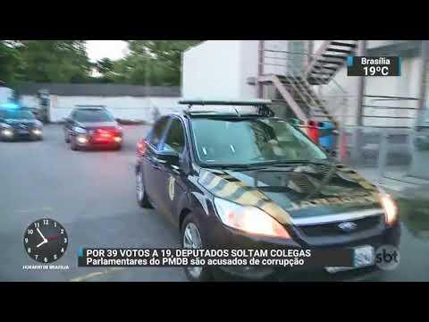 Alerj decide revogar prisão de Picciani Melo e Albertassi  SBT Brasil 171117