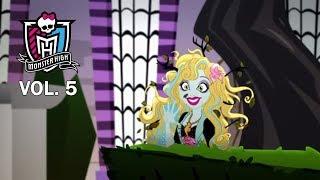 #МонстерХай: Гил нарасхват. Лучшие серии онлайн Monster High 5 сезон