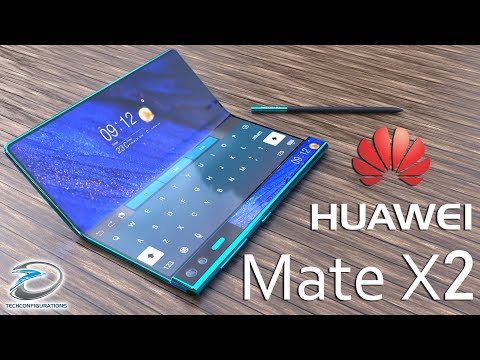 Huawei Mate X2 With Inward Folding Design Concept ,Specifications,Price & Launch Date