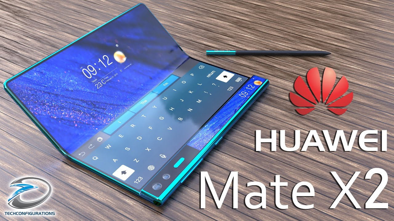 Huawei Mate X2 with Inward folding Design Concept ,Specifications,Price &  Launch Date #TechConcepts - YouTube