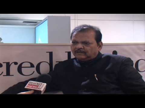 Subodh Kant Sahai Minister of Tourism India @ ITB 2012