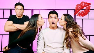 Download Who Kissed Who Challenge! ft Merrell Twins & Aaron Mp3 and Videos