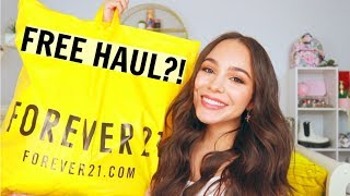 FREE SHOPPING HAUL?! Summer Forever 21 Haul!!!