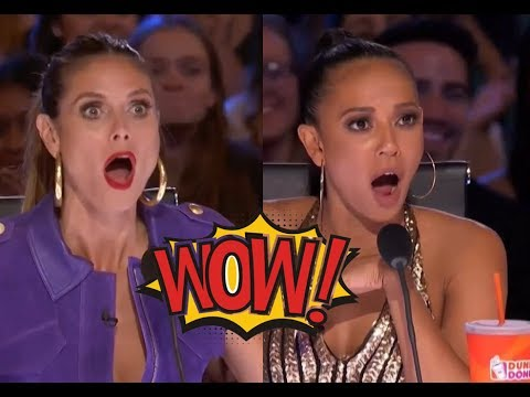 DON'T BLINK AN EYE For A Sec! This Is Mind BLOWING! | AGT Audition S12
