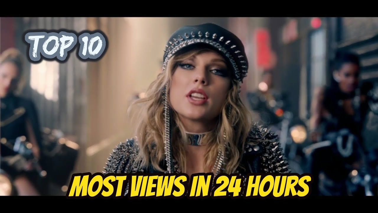 top 10 most viewed youtube music