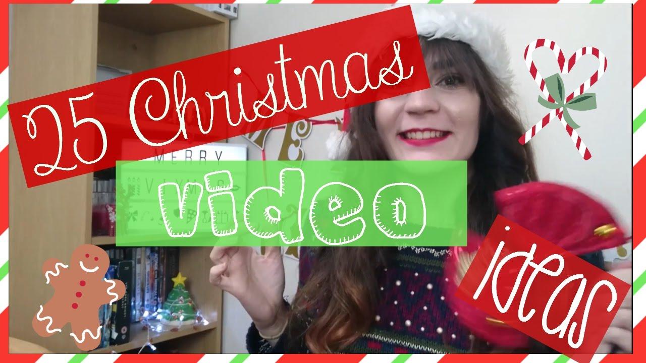 25 Christmas Video Ideas Vixmas Day 1 Youtube