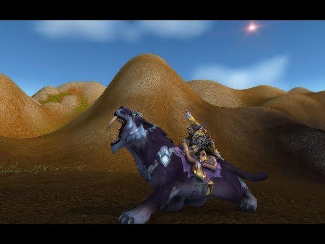 World of Warcraft - Mount Spotlight, Kaldorei Nightsaber #12