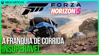 Forza Horizon 5 - O futuro melhor jogo de corrida de Xbox e PC