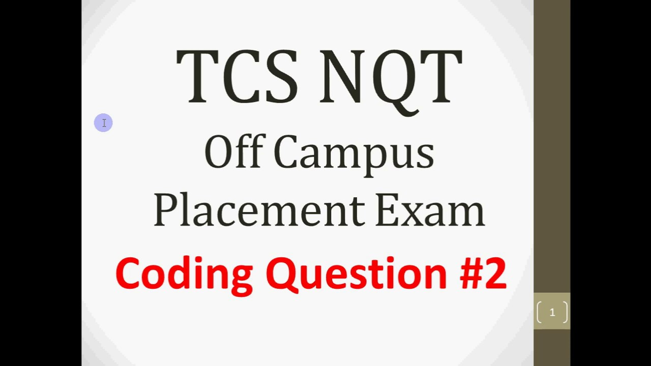 TCS NQT Placement Q2 | Program to convert Decimal number to Binary