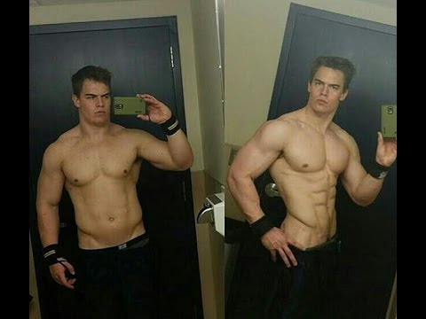From a fluffy 230 pounds to a jacked 207 pounds feat  Magic Mike