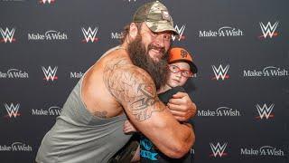 Braun Strowman grants Chad's wish before Raw