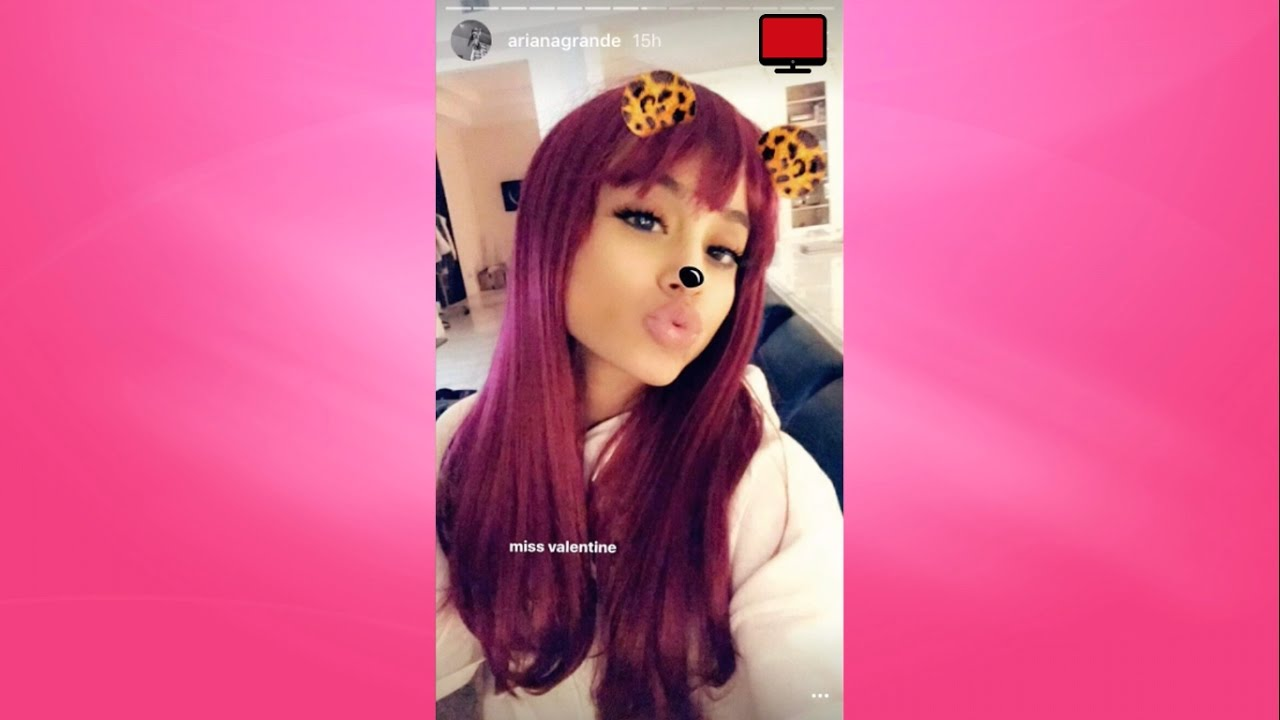 Ariana Grande April 2017 Instagram Story Compilation - YouTube
