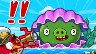 Angry Birds Fight: NEW CLAM MONSTER PIG IS HERE Snow Island 8-8!