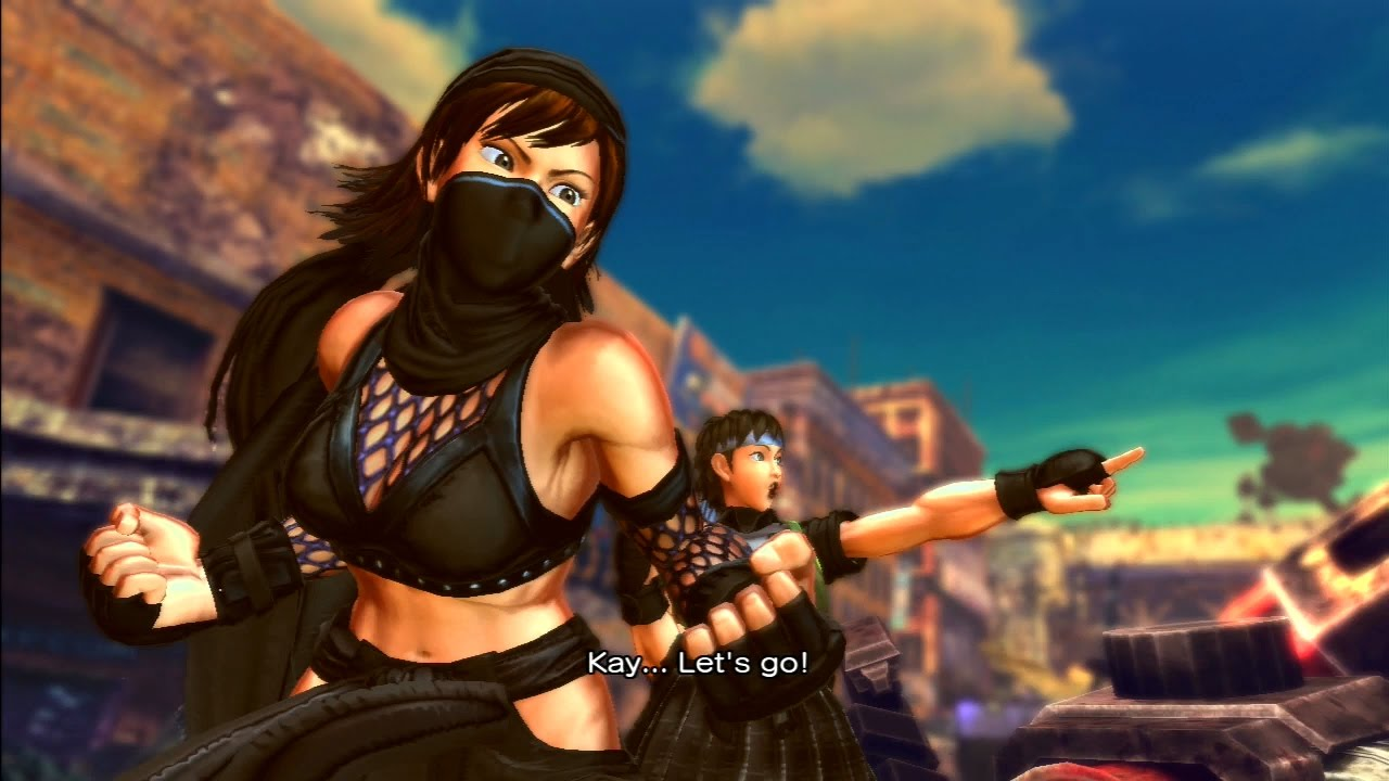 Serious? street fighter x tekken asuka kazama