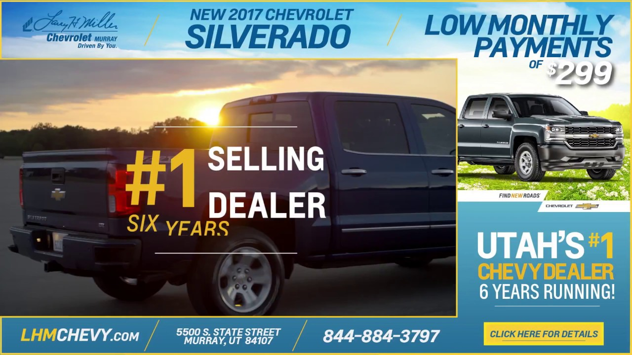Chevy Dealer Utah >> 1 Chevy Dealer In Utah Larry H Miller Chevrolet Murray