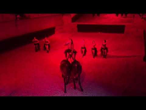 Cabarets Equestres 2017 - Express Burlesque - Christina Aguilera