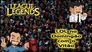 Lol No Domingão Com O Vitão