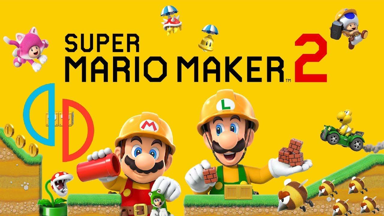 Yuzu Custom Build Emulation Channel|SUPER MARIO MAKER 2