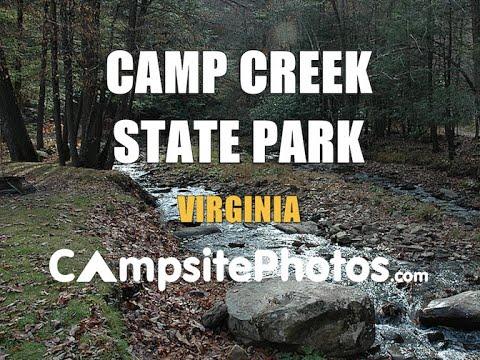 Camp Creek State Park, West Virginia Campsite Photos