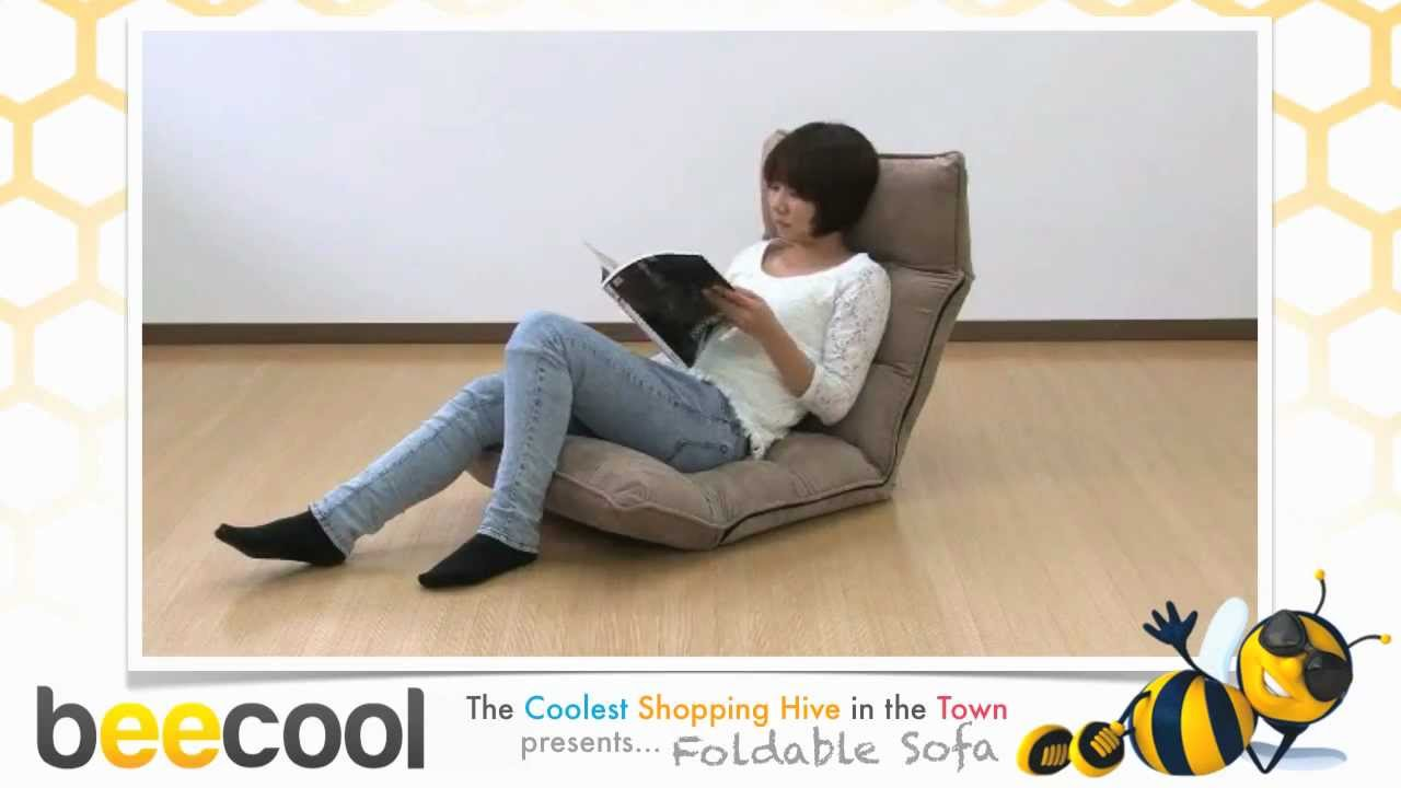 Foldable sofa youtube Uni home furniture indonesia