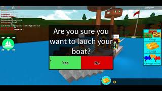 BIGGEST AND BEST BOAT EVER!!! (Roblox build a boat for treasure)