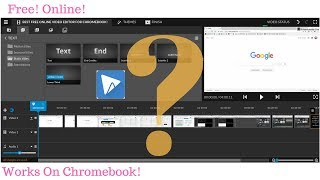 Best Online Video Editor for Chromebook! (Free!)